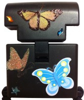 Beam n Read Hands-Free Light Blinged with Butterflies