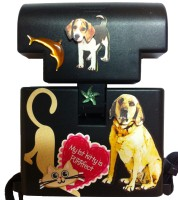 Beam n Read Hands-Free Light Blinged with Cats & Dogs