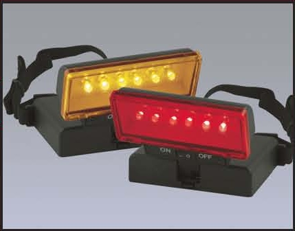 Beam N Read LED 6 Deluxe Hands Free Light with Red Night Vision Filter and with Amber Soft Light Filter