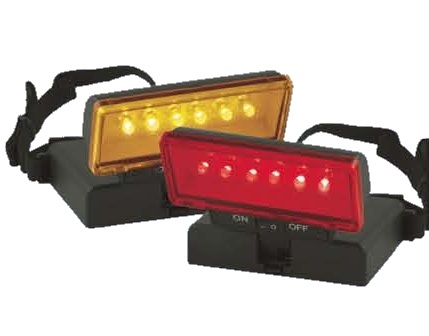 Beam n Read LED 6 Hands-Free Light with Red Night Vision Filter and with Amber Soft Light Filter