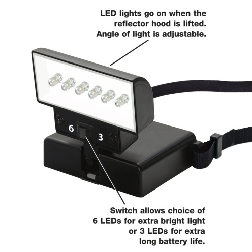 Beam n Read LED 6  Hands-Free Light