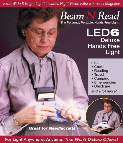 Box Cover, Beam N Read LED 6 Deluxe Hands Free Light