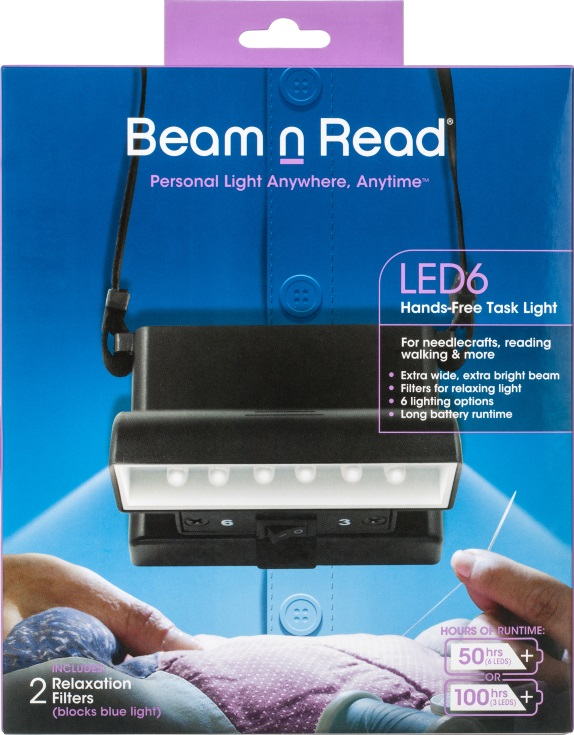 Box Cover, Beam n Read LED 6 Hands-Free Task Light